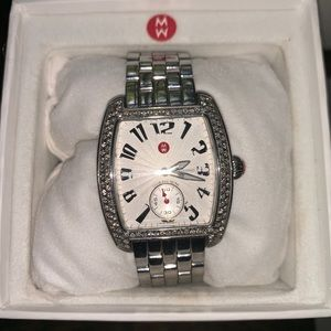 Michele Watch with diamond  bezel
